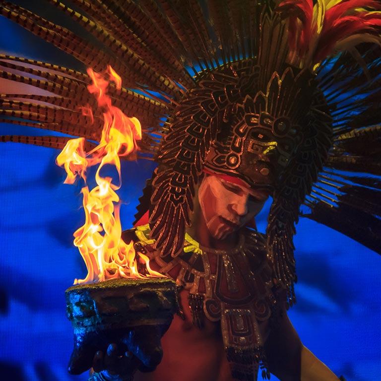 Phoenix Fire Dancers - concept artists