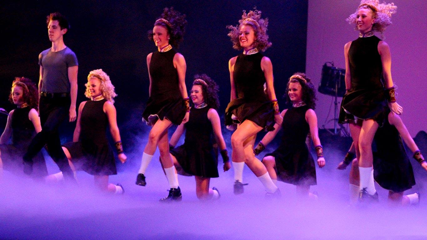Trinity Irish Dance Company Progressive on Dance Step Patterns