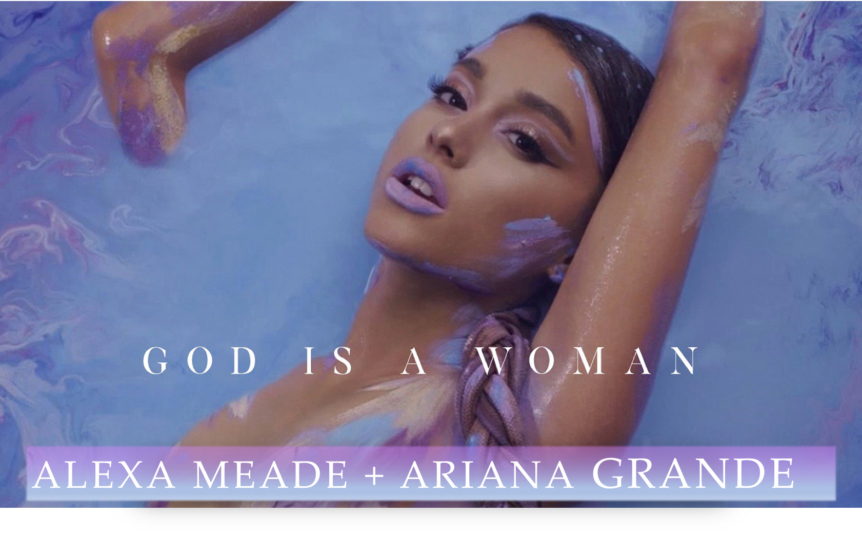 Alexa Meade X Ariana Grande collaboration