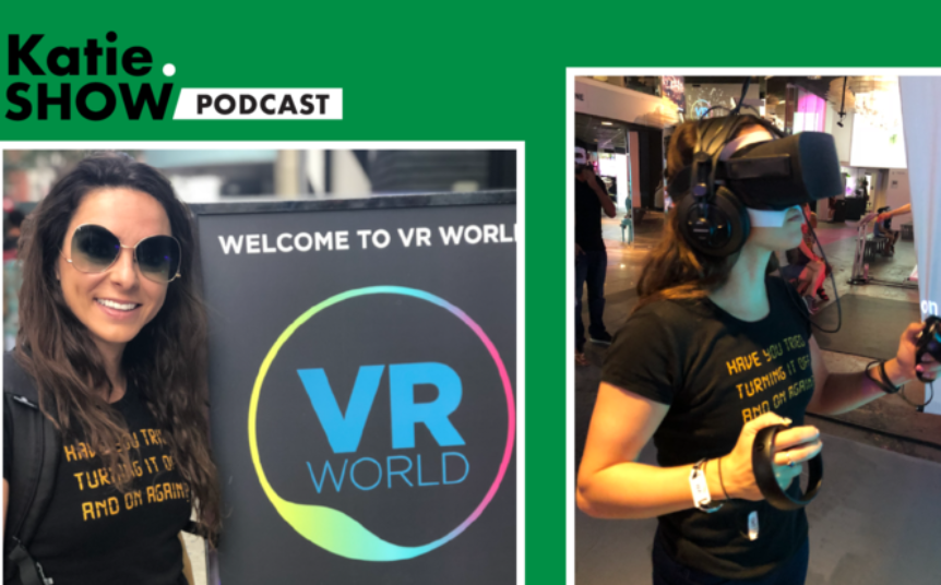 Katie Linendoll VR World NYC