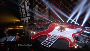 William Close Seven Nation Army performance CBS World's Best