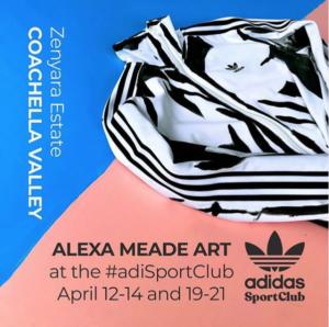 Alexa Meade Coachella 2019