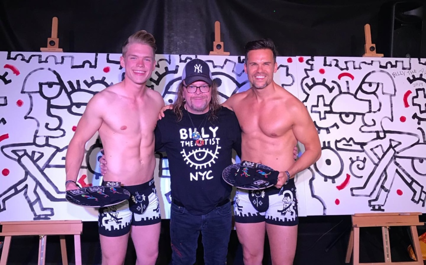 underwear line TP Brothers X BTA