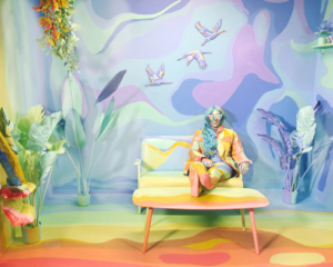 Alexa Meade Artist in Google Residence